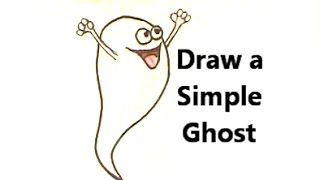BOO! How Scary Can It Be? Draw a SILLY GHOST!