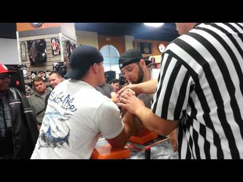 Doug Erlich vs Jonathan Long 220 finals Right hand