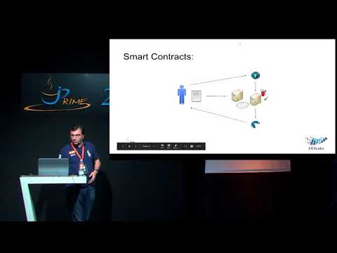 CI/CD of blockchain smart contracts using Java and eDuke - Frederic Hubin