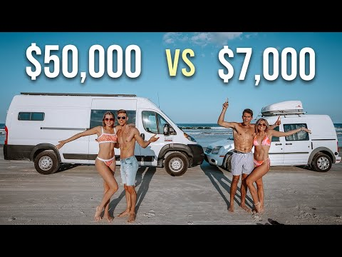 Budget vs Luxury Van Life - Choose The PERFECT Van For YOU