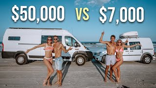 Budget vs Luxury Vąn Life - Choose The PERFECT Van For YOU