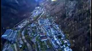 Rukan, un pueblo noruego sin luz del sol durante seis meses al año