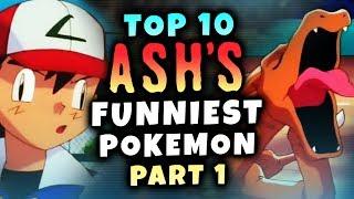 Top 10 Ash's Funniest Pokemon Ft. TheCritMagnet