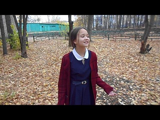 Изображение предпросмотра прочтения – ЮлияШаяхметова читает произведение «Осенний вечер...Небо ясно» И.С.Тургенева