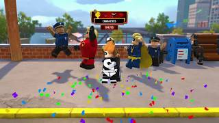 Lego The Incredibles - Defeat Syndrome Industrial Crime Wave Walkthrough Help Guide