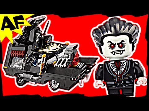 VAMPYRE HEARSE Lego Monster Fighters Set 9464 Animated Building Review