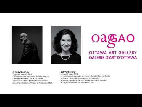 Ottawa Art Gallery In Conversation: Michelle Gewurtz+Charlie Hill