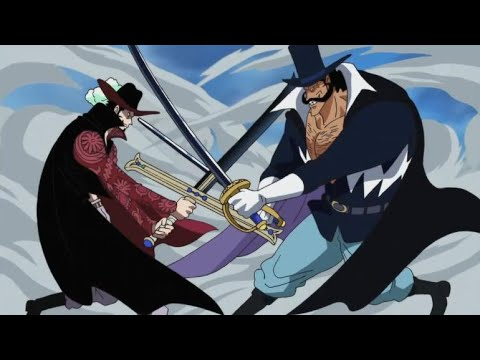 Mihawk vs Flower Blade Vista [Marine Fort Arc] Full Fight