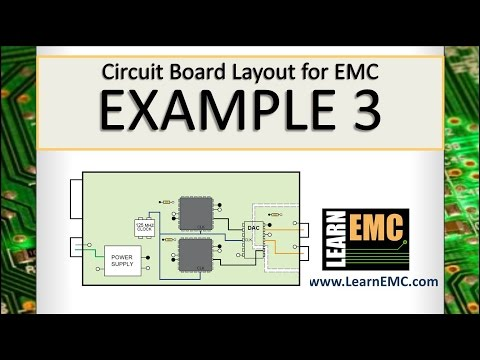 Circuit Board Layout for EMC: Example 3