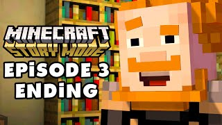 Minecraft: Story Mode - Episode 3: The Last Place You Look - Gameplay Walkthrough Part 3 (PC)