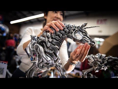 The Fantasy Metal Creatures of Perkunas Design Studio