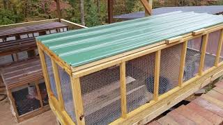 Major upgrade to my rabbitry and meat chicken production