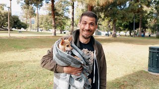 Critical support for pet owners experiencing homelessness