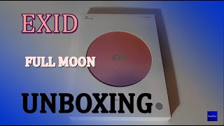 EXID 이엑스아이디 - Full Moon (The 4th mini album) UNBOXING