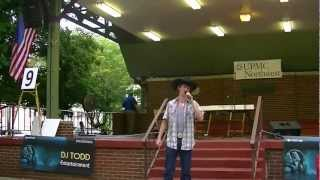hunter cook singing eight second ride by jake owen