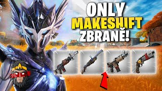 *CHALLENGE* ONLY MAKESHIFT ZBRANĚ VE FORTNITE!!