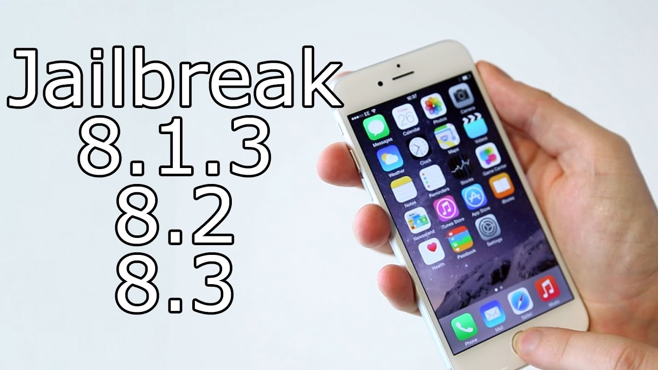 How To Jailbreak iOS 8.1.3 / 8.3 Untethered iPhone 6, 5S, iPad Air 2