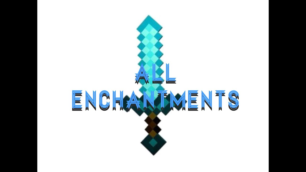 Minecraft enchanted diamond sword