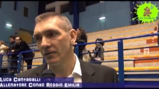 03-04-2013: Intervista a Luca Cantagalli nel post Molfetta-Reggio Emilia 3-1 G3QPo