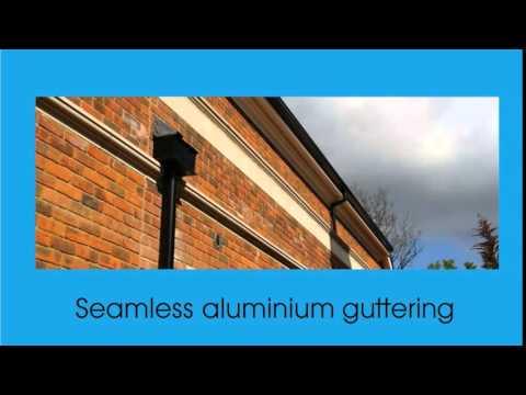 Aluminium guttering London