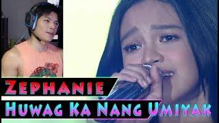 Zephanie Dimaranan - Huwag Ka Nang Umiyak - Idol Philippines - RandomPHDude Reaction