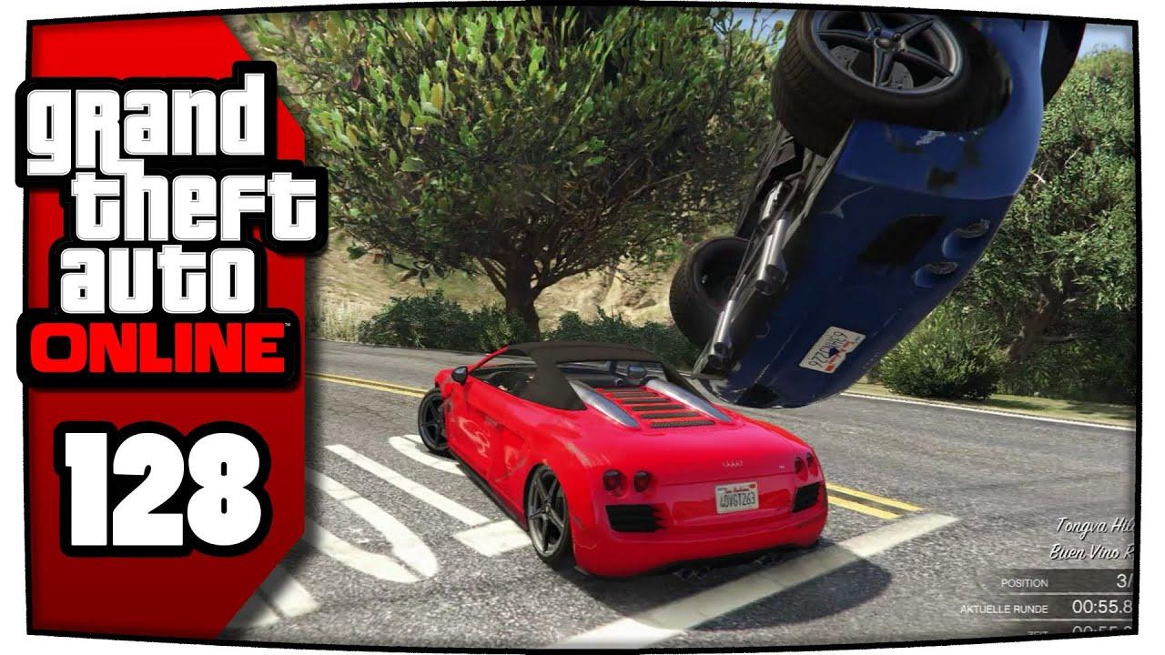 Wo Autos fast einen Unfall bauen | GTA 5 Online #128 [PC/HD/60fps ...