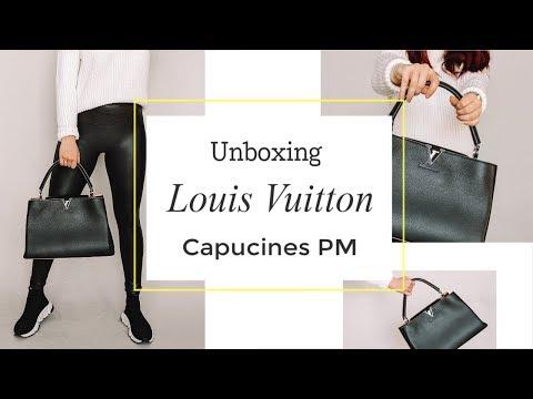 Louis Vuitton Capucines // Unboxing