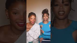 Ungodly Tea Time (7/15/2021) - Chloe x Halle Instagram Live