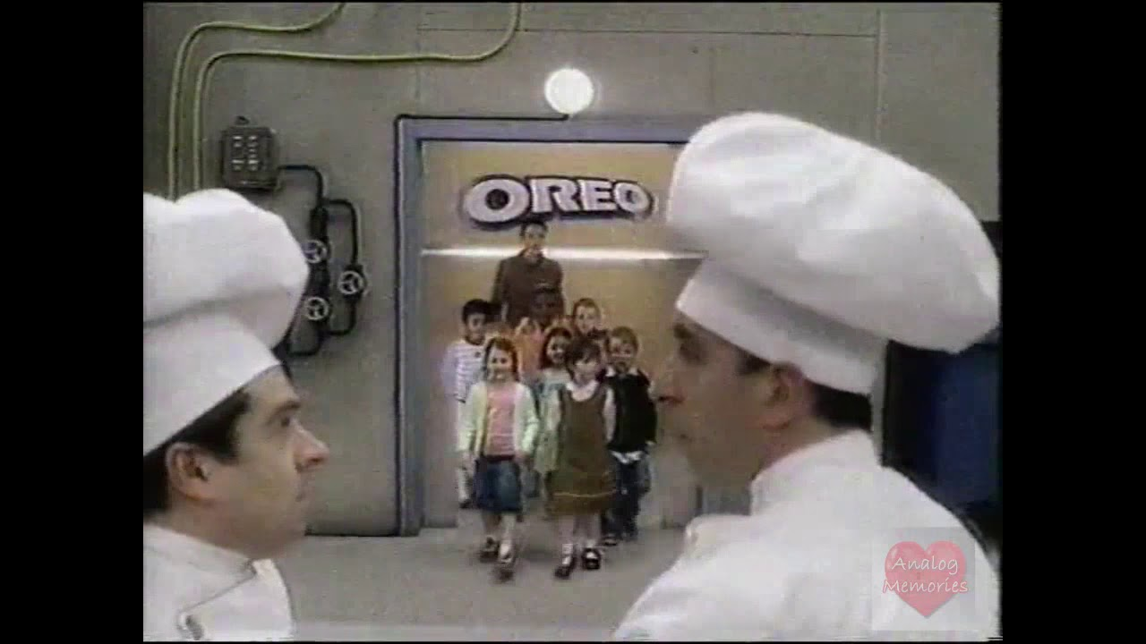 Uh Oh Oreo Television Commercial 2003 Youtube