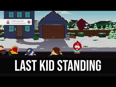 Last Kid Standing Trophy Tutorial - South Park: The Fractured But Whole