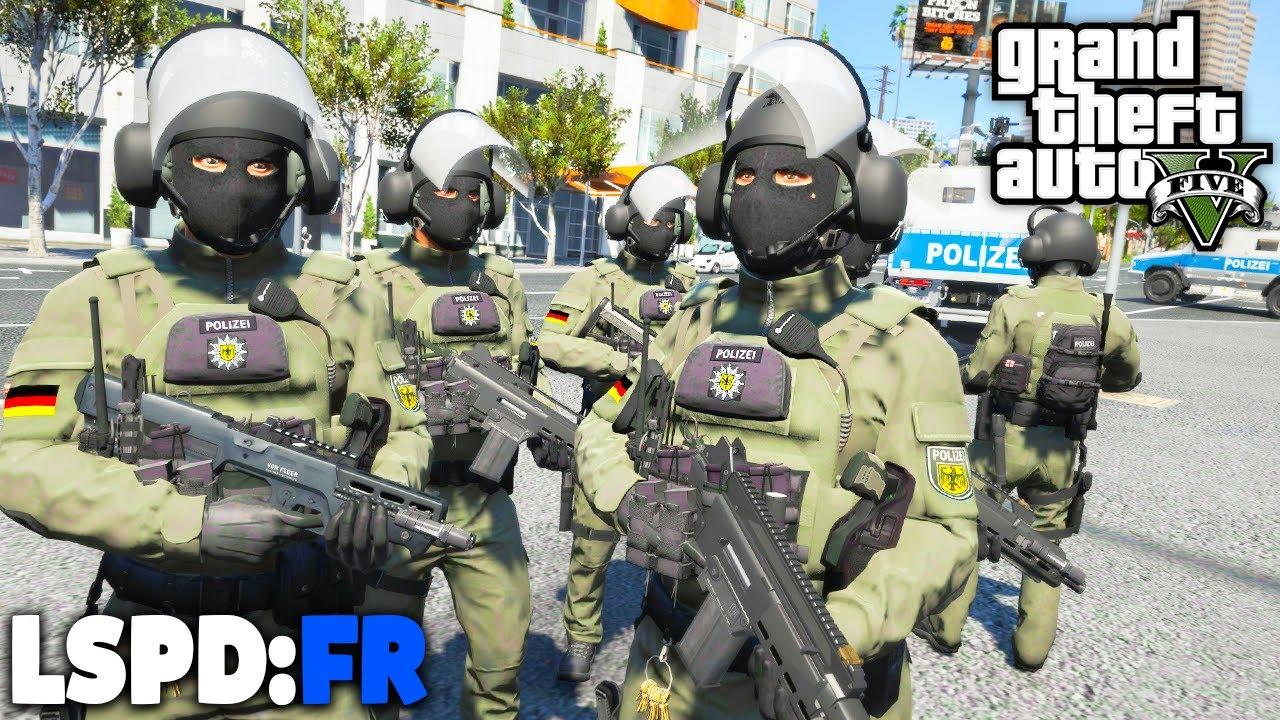 GTA 5 LSPD:FR - Das GRÖSSTE SWAT / SEK Team! - Deutsch - Polizei Mod #91 Grand Theft Auto V