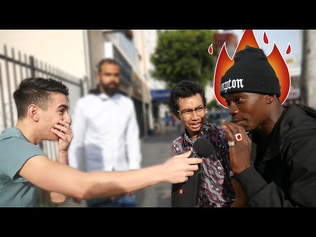 He MURDERED My Beat!! - Asking RANDOM People to Freestyle on MY Beats!! (Part 4)