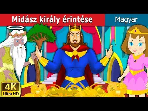 Midász Király érintése | Esti Mese | Magyar Tündérmesék