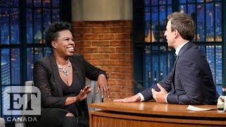 Leslie Jones Makes First Media Appearance After Leaving Twitter Over Racism   'Ghostbusters'