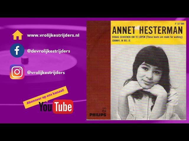 PiratenHits - Annet Hesterman - Draag Schoenen Om Te Lopen
