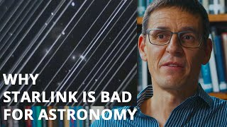 Why SpaceX Starlink is bad for Astronomy | Didier Queloz