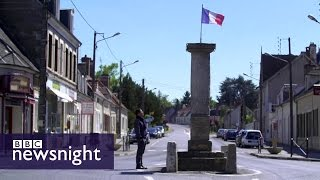French election: In search of 'la France profonde'  - BBC Newsnight