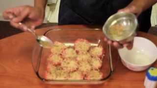 A Spoonful Of Shruti- Parmesan Tomatoes- Ep. 1