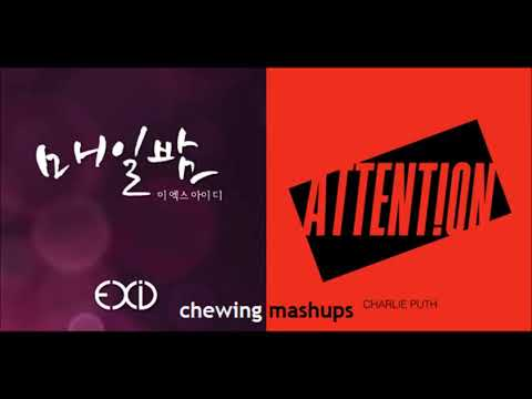 Free Download Exid X Charlie Puth - Attention Every Night (mashup) Mp3 dan Mp4