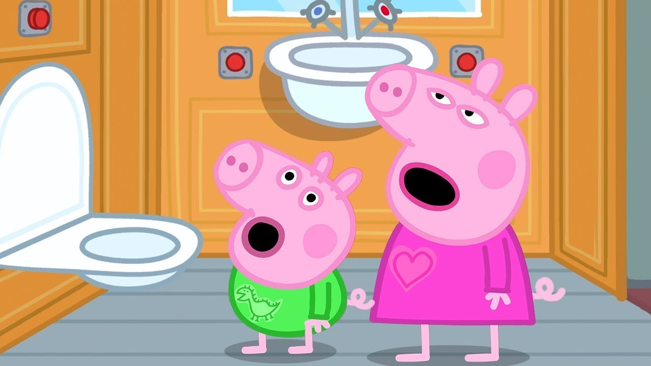 Peppa Pig Full Episodes | Peppa Pig's Bedtime on a Train ...