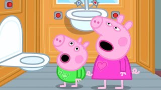 Peppa Pig Full Episodes | Peppa Pig's Bedtime on a Train! | Kids Videos