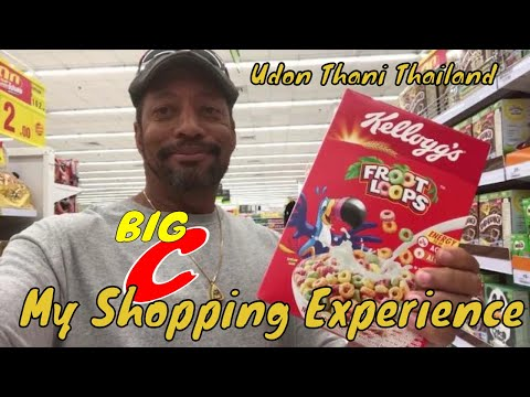 My Shopping Experience Big C Udon Thani S4, E3