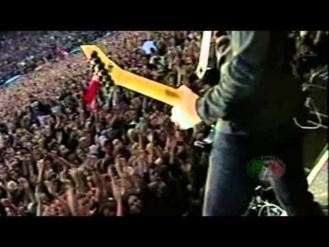 Metallica  No Leaf Clover  Screen feed  2004  Bremen  Germany