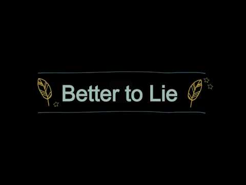benny blanco, Swae Lee, Jesse - Better To Lie (Lyrics / Lyric Video)