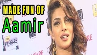 59th Idea Filmfare Awards 2014 | Ranbir Kapoor - Priyanka Chopra made fun of Aamir Khan