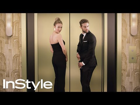 Chace Crawford & Rebecca Rittenhouse 2018  InStyle