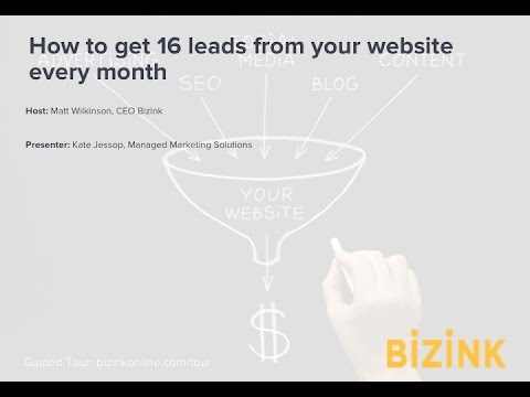 How to get 16 leads from your accounting website every month