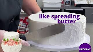 How to: Create Rustic Frosting Look