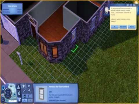 Casa estilo americano los sims 3 youtube - Casas estilo americano ...