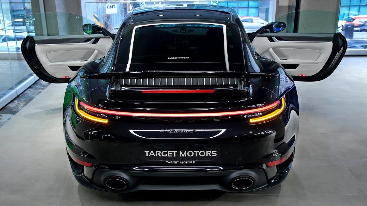 2021 Porsche 911 Turbo S - Exterior and interior Details (Gorgeous Car)